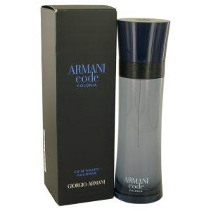 Armani Code Colonia by Giorgio Armani Eau De Toilette Spray 4.3 oz Men