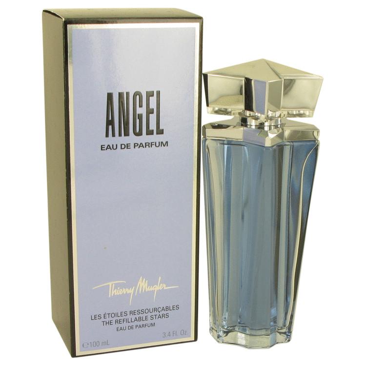 ANGEL by Thierry Mugler Eau De Parfum Spray Refillable 3.4 oz Women