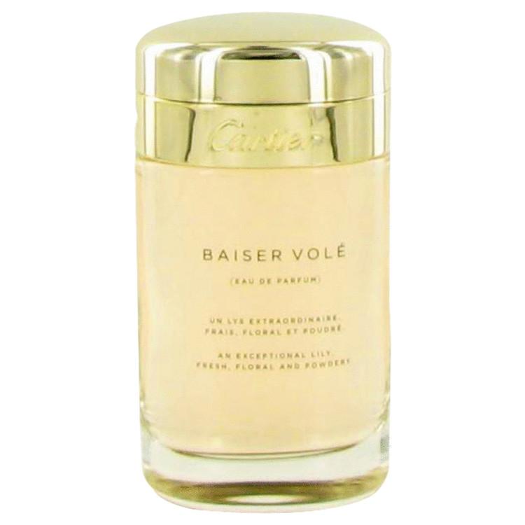 Baiser Vole by Cartier Eau De Parfum Spray (Tester) 3.4 oz Women