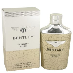 Bentley Infinite Rush by Bentley Eau De Toilette Spray 3.4 oz Men
