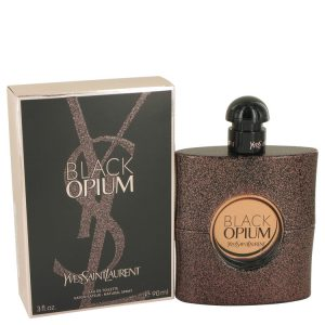 Black Opium by Yves Saint Laurent Eau De Toilette Spray 3 oz Women