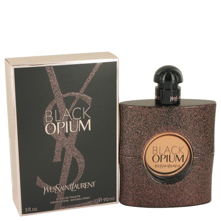 Black Opium by Yves Saint Laurent Eau De Toilette Spray 3 oz Women