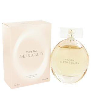 Sheer Beauty by Calvin Klein Eau De Toilette Spray 3.4 oz Women