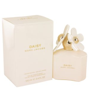 Daisy by Marc Jacobs Eau De Toilette Spray (Limited Edition White Bottle) 3.4 oz Women