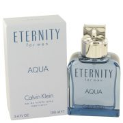 Eternity Aqua by Calvin Klein Eau De Toilette Spray 3.4 oz Men