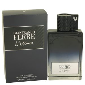 Gianfranco Ferre L'uomo by Gianfranco Ferre Eau De Toilette Spray 3.4 oz Men