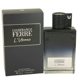 Gianfranco Ferre L'uomo by Gianfranco Ferre Eau De Toilette Spray 3.4 oz Men