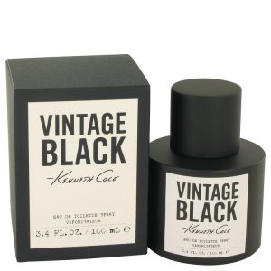 Kenneth Cole Vintage Black by Kenneth Cole Eau De Toilette Spray 3.4 oz Men