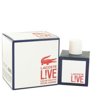 Lacoste Live by Lacoste Eau De Toilette Spray 3.4 oz Men
