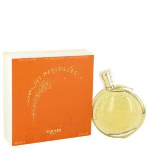 L'ambre Des Merveilles by Hermes Eau De Parfum Spray 3.3 oz Women