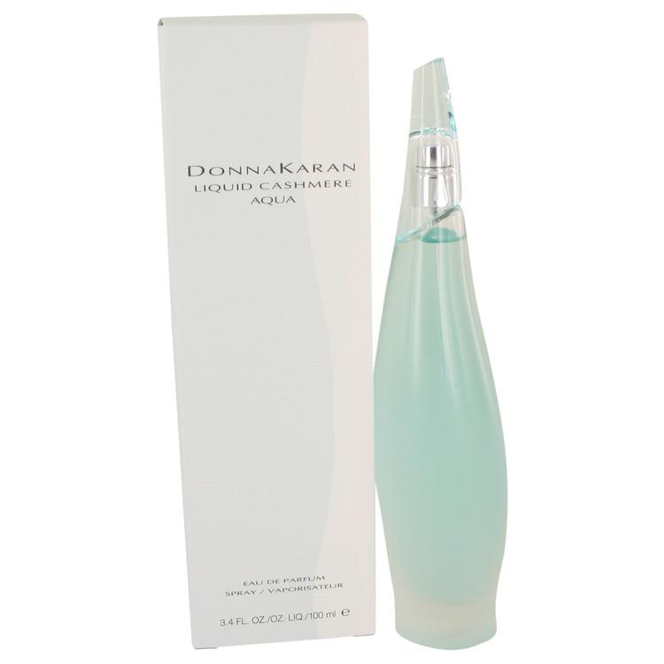 Liquid Cashmere Aqua by Donna Karan Eau De Parfum Spray 3.4 oz Women