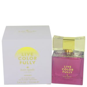 Live Colorfully Sunset by Kate Spade Eau De Parfum Spray 3.4 oz Women