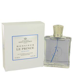 Monsieur Le Prince Elegant by Marina De Bourbon Eau De Parfum Spray 3.4 oz Men