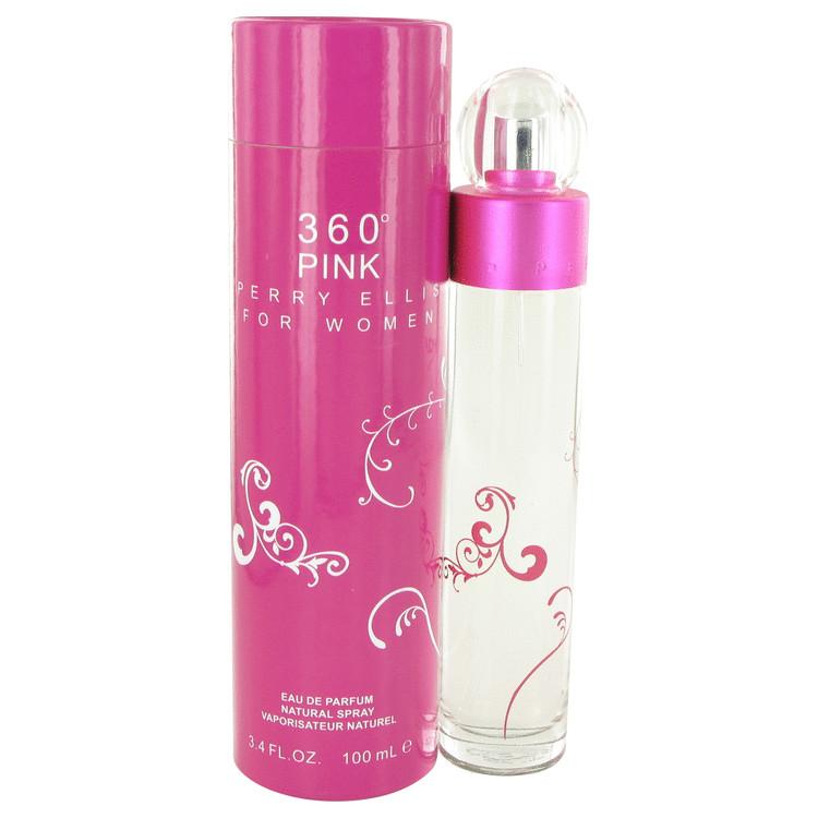 perry ellis 360 Pink by Perry Ellis Eau De Parfum Spray 3.4 oz Women
