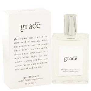 Pure Grace by Philosophy Eau De Toilette Spray 2 oz Women