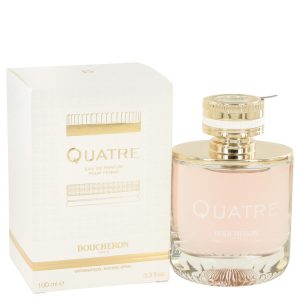 Quatre by Boucheron Eau De Parfum Spray 3.3 oz Women