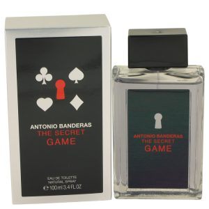 The Secret Game by Antonio Banderas Eau De Toilette Spray 3.4 oz Men