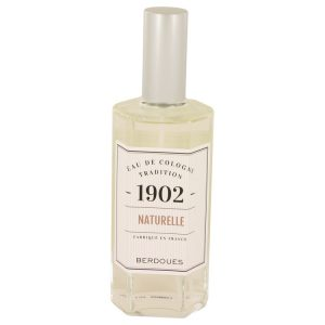 1902 Natural by Berdoues Eau De Cologne Spray (Unisex-unboxed) 4.2 oz Men