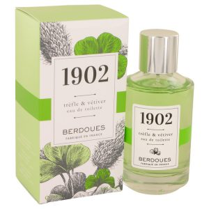 1902 Trefle & Vetiver by Berdoues Eau De Toilette Spray 3.38 oz Women