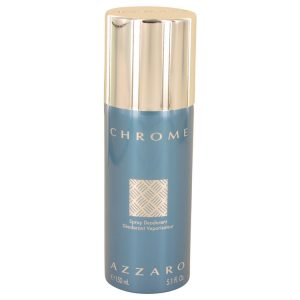 Chrome by Azzaro Deodorant Spray 5 oz Men