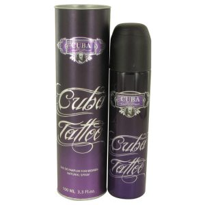 Cuba Tattoo by Fragluxe Eau De Parfum Spray 1.17 oz Women