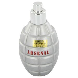 ARSENAL RED by Gilles Cantuel Eau De Parfum Spray (New Tester) 3.4 oz Men