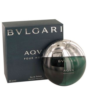 AQUA POUR HOMME by Bvlgari Eau De Toilette Spray 1.7 oz Men
