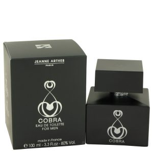 Cobra by Jeanne Arthes Eau De Toilette Spray 3.3 oz Men