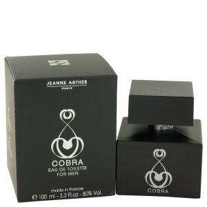 Cobra by Jeanne Arthes Eau De Toilette Spray 3.3 oz Men