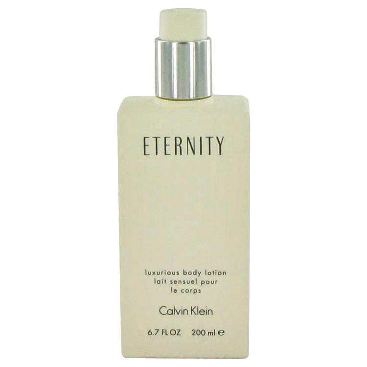 ETERNITY by Calvin Klein Body Lotion (unboxed) 6.7 oz Women