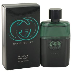 Gucci Guilty Black by Gucci Eau De Toilette Spray 1.6 oz Men