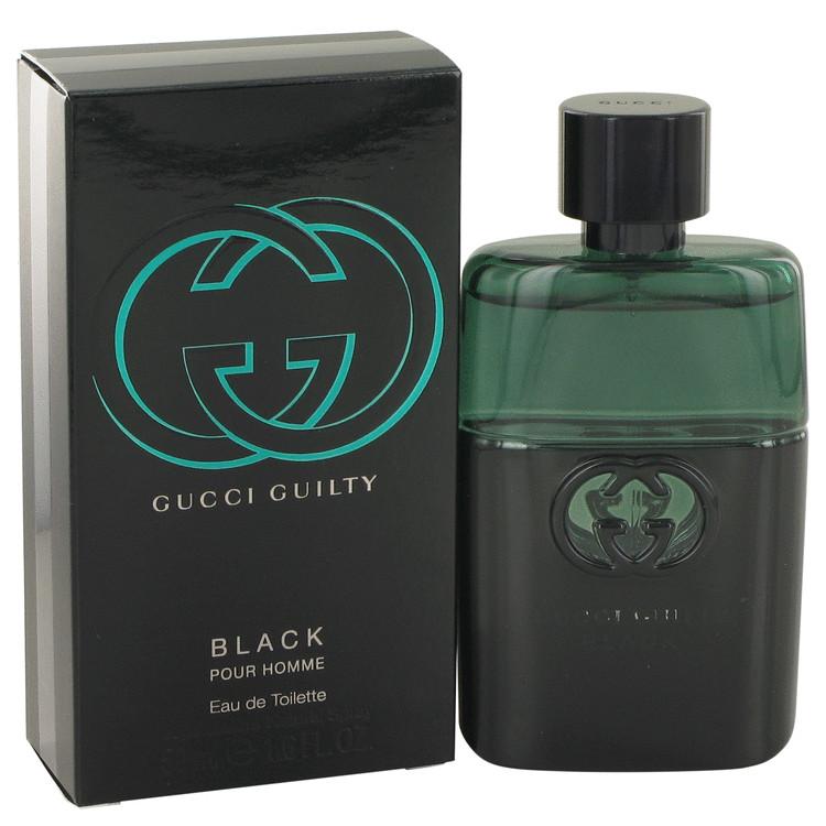 Gucci Guilty Black by Gucci Eau De Toilette Spray 1.6 oz Men