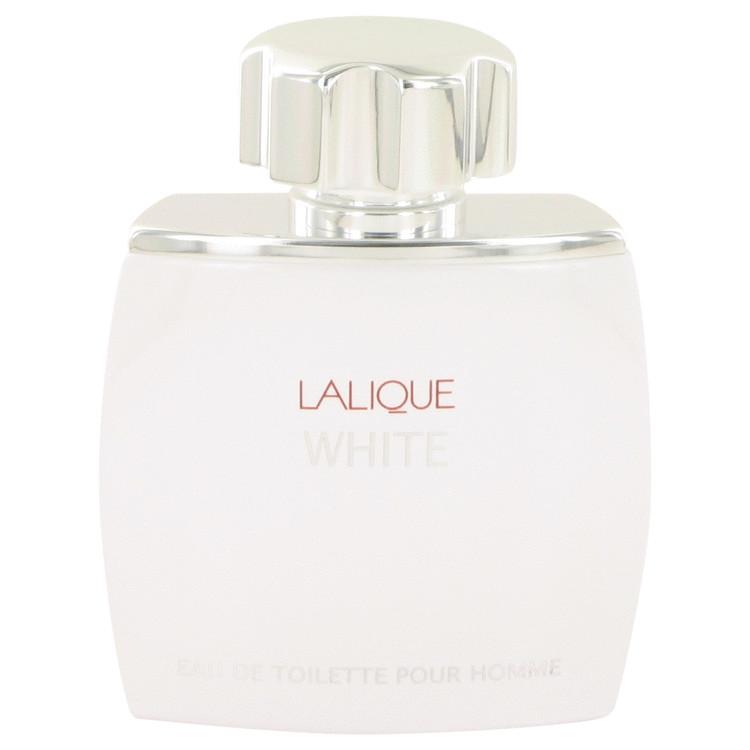 Lalique White by Lalique Eau De Toilette Spray (Tester) 2.5 oz Men