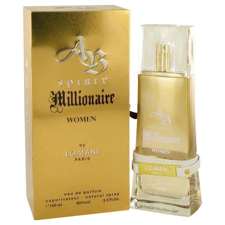 Spirit Millionaire by Lomani Eau De Parfum Spray 3.3 oz Women