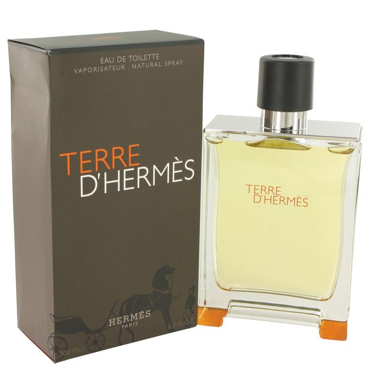 Terre D'Hermes by Hermes Eau De Toilette Spray 6.7 oz Men