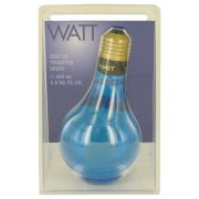 WATT Blue by Cofinluxe Eau De Toilette Spray 6.8 oz Men