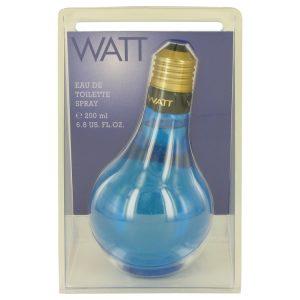 WATT Blue by Cofinluxe Eau De Toilette Spray 6.8 oz Men