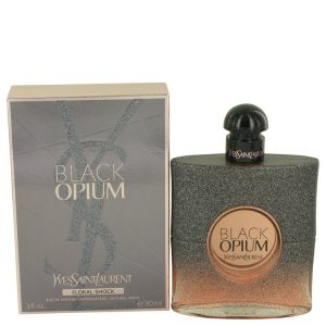 Black Opium Floral Shock by Yves Saint Laurent Eau De Parfum Spray 3 oz Women