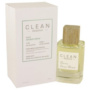 Clean Smoked Vetiver by Clean Eau De Parfum Spray 3.4 oz Women