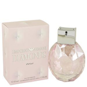 Emporio Armani Diamonds Rose by Giorgio Armani Eau De Toilette Spray 1.7 oz Women