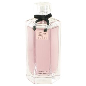 Flora Gorgeous Gardenia by Gucci Eau De Toilette Spray (Tester) 3.3 oz Women