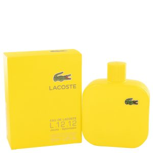 Lacoste Eau De Lacoste L.12.12 Jaune by Lacoste Eau De Toilette Spray 5.9 oz Men