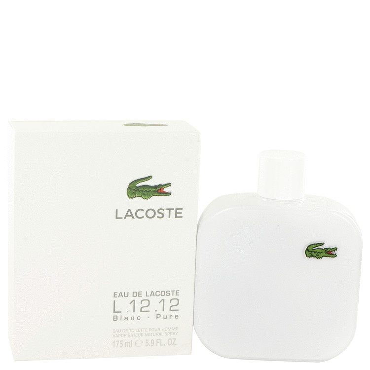Lacoste Eau De Lacoste L.12.12 Blanc by Lacoste Eau De Toilette Spray 5.9 oz Men