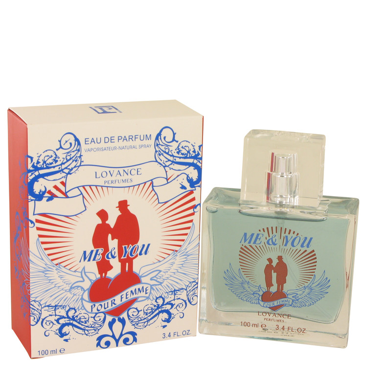 Me & You by Lovance Eau De Parfum Spray 3.3 oz Women