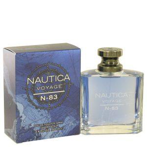 Nautica Voyage N-83 by Nautica Eau De Toilette Spray 3.4 oz Men