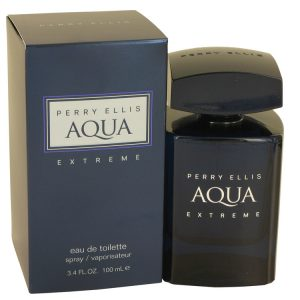 Perry Ellis Aqua Extreme by Perry Ellis Eau De Toilette Spray 3.4 oz Men