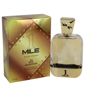 1 Mile Pour Homme by Jean Rish Eau De Toilette Spray 3.4 oz Men
