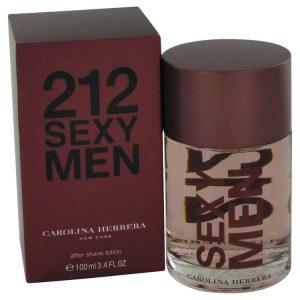 212 Sexy by Carolina Herrera After Shave 3.3 oz Men