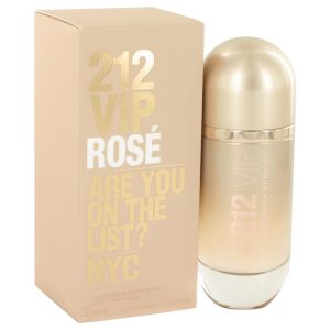 212 VIP Rose by Carolina Herrera Eau De Parfum Spray 2.7 oz Women
