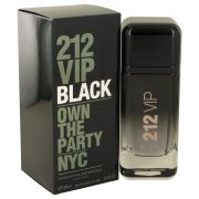 212 VIP Black by Carolina Herrera Eau De Parfum Spray 3.4 oz Men